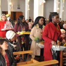 La messe des peuples en images