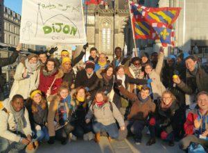 En images, l'aumônerie de Dijon au rassemblement étudiants Ecclesia campus