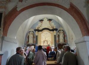 Art sacré : à la découverte de la chapelle de Barain, à Avosnes