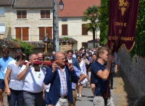 Fête de Saint-Thibaud à Pommard : quelques images de l'événement
