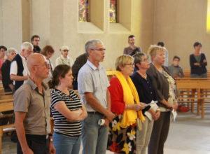La nouvelle ''EAP'' de la paroisse Dijon Saint-Joseph envoyée en mission