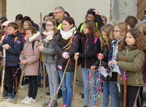 Genlis/Saint-Just : les jeunes ont marché vers l'abbaye d'Acey