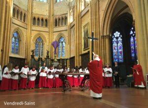 Le triduum Pascal à la cathédrale : quelques photos